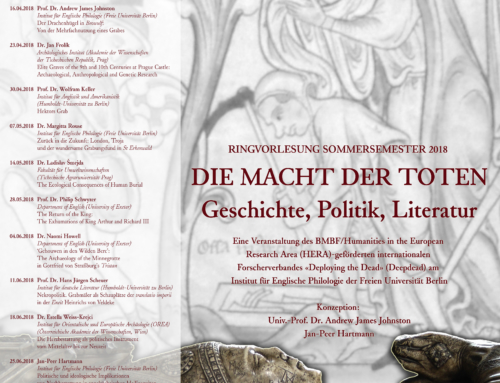 Berlin Lecture series 16 April 2018